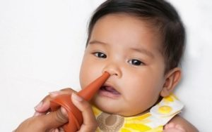 промыть нос ребенку