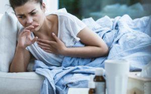 ночной кашель у женщины