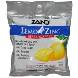 леденцы с цинком и лимоном