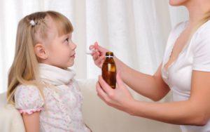 дать сироп от кашля дочери