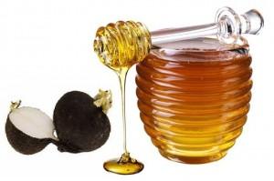 мед и черная редька