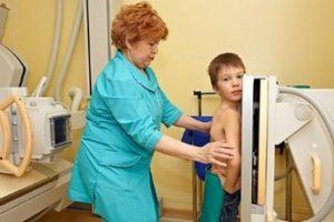 сделать рентген легких ребенку