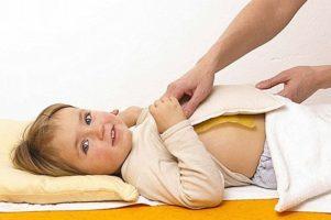 поставить ребенку компресс