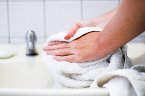 чистые теплые руки