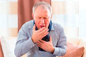 удущающий кашель