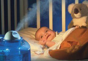увлажнение воздуха в комнате грудничка
