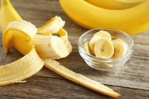 порезанный банан