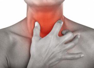болит горло у мужчины