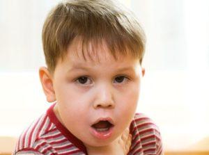 ком в горле у ребенка
