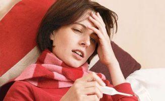 болит горло и высокая температура
