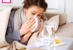 заболеть гриппом