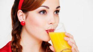 обильное питье соков