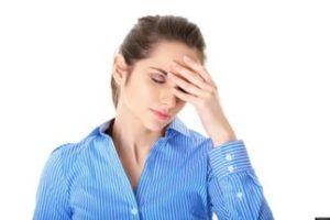 резкая головная боль,
