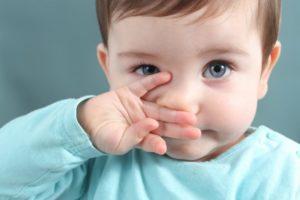Насморк у годовалого ребенка