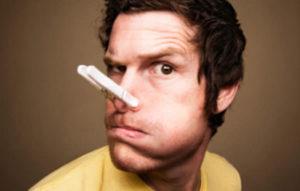 Заложен нос без соплей