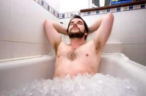 погружение в ледяную ванну